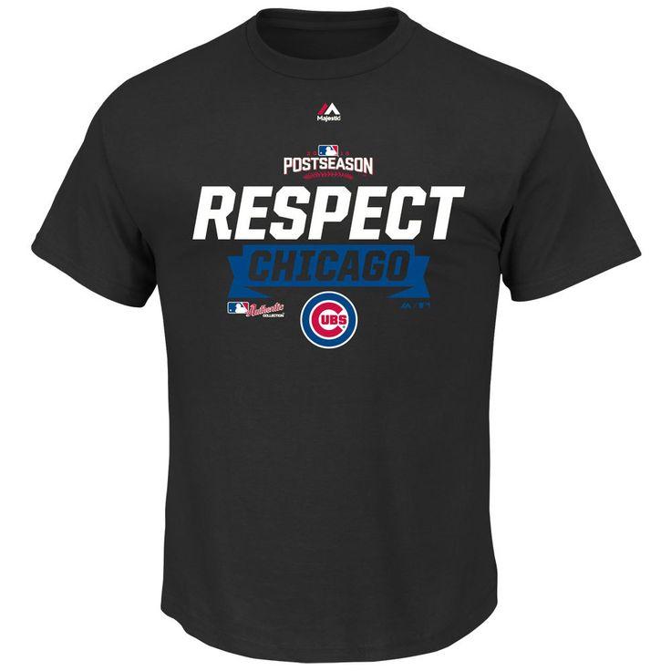 Chicago Cubs 2016 Division Series Clincher Respect T-Shirt  #ChicagoCubs #Cubs #FlyTheW SportsWorldChicago.com