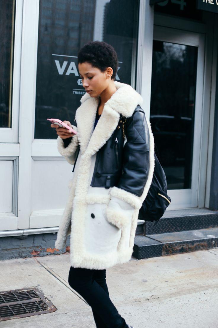 Resultado de imagen de new york fashion week street style 2016