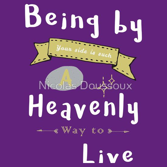 A Heavenly Life  #typography #lettering #love #valentine's day #girlfriend #boyfriend #lyrics #quote