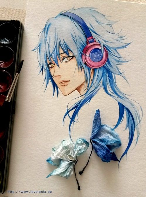 Dramatical Murder. Aoba...sorry I don't know who made it but it's AMAZING though
