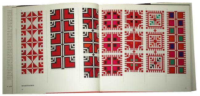 نقلات من كتاب تطريز فلاحي palestinian embroidery motifs