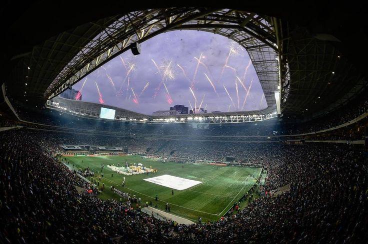 Palestra Itália vira quinto estádio com mais seguidores no