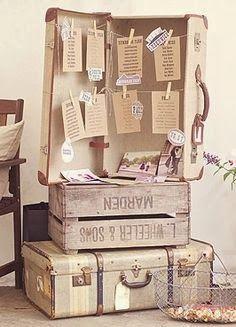 un contenant drages original en forme de valise de voyage de couleur ivoire et chocolat vous pourrez lassortir facilement avec votre dc - Valise Dragees Mariage