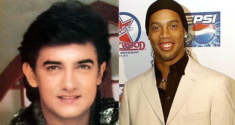 Aamir Khan & Ronaldinho