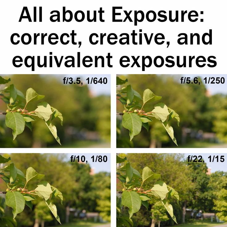 All about Exposure: correct, creative, and equivalent exposures explained | Boost Your Photography