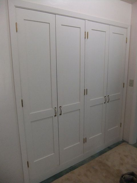 2 Sets Of Double Closet Doors For The Conservatory