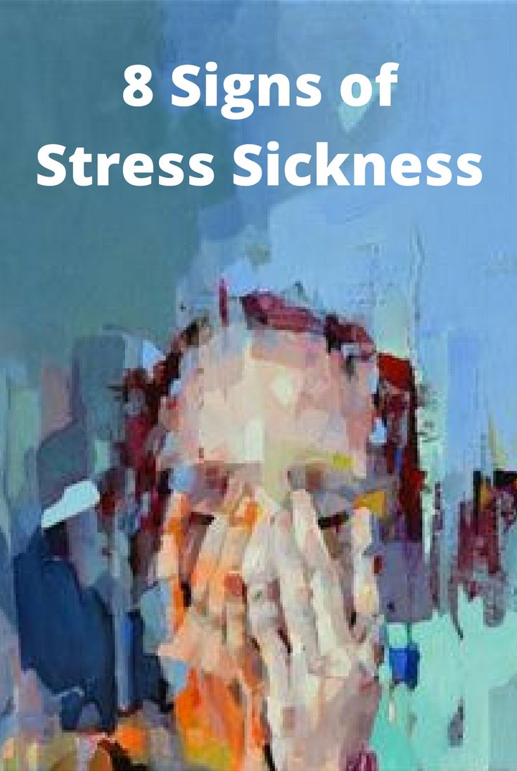 Stress and the knowledge of stress can have a detrimental effect on the body. However, there are warning signs that one can look for to see if stress is making the body sick. A handful of these signs include: indigestion, red/blotchy skin, changes in weight, head pain etc.