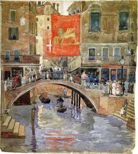 Venice - Maurice Prendergast, c.1898-9