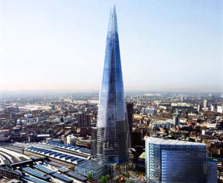 Shard London, Renzo Piano, blinds train drivers, also due to internal reflection people can see in neighboring appartments