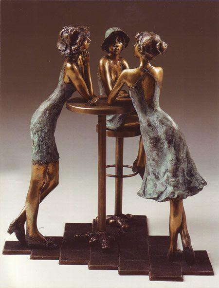 Bronze Sculpture: Great Secret | Flickr - Photo Sharing!