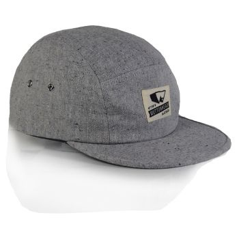 Raised By Wolves x Muttonhead - Trip Out 5 Panel Cap Duck Grey  Label: Raised By Wolves   Format: Cap  £25.00 (£30.00 inc VAT)     Canadian born brand Raised By Wolves takes its inspiration from Skate culture, Urban clothing, and other popular trends combining them to create unique and one of a kind pieces of clothing.   •	Raised By Wolves  •	5 panel cap  •	Trip Out Collection  •	Grey  •	One size fits most