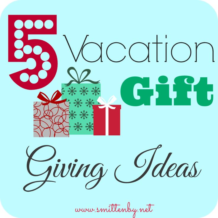 5 Vacation Gift Giving Ideas - Smitten By... If you needs some ideas on how to surprise your kiddos with a vacation here are 5 fun ideas. #surprisevacation #ideastotellthekids #smittenby