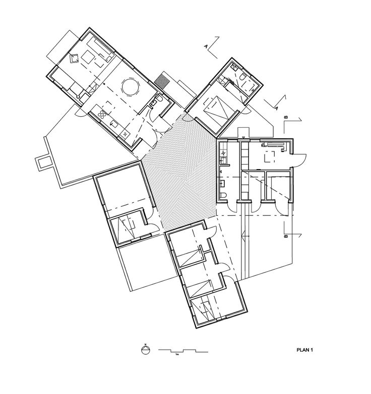 49 best angular architecture images on Pinterest | Floor plans ...
