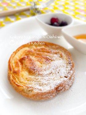 Bread ear ☆ roll French toast