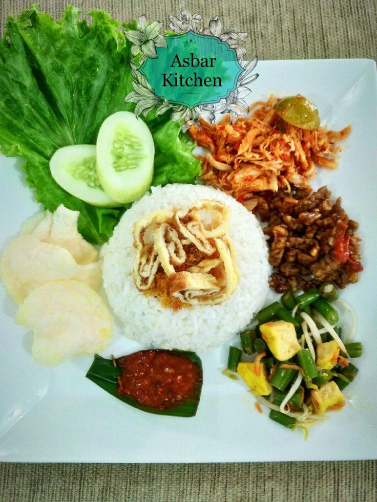 Nasi Balap khas Lombok