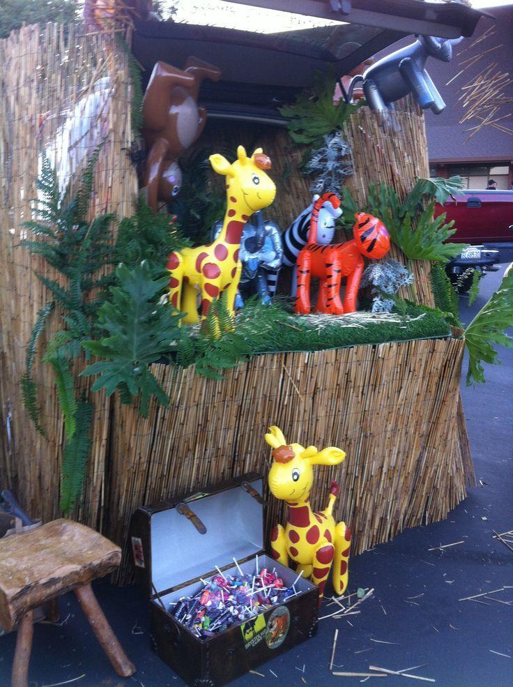 jungle trunk or treat ideas google search halloween in 2018