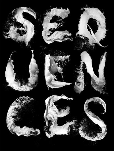 Stefan Sagmeister - Milk typography.