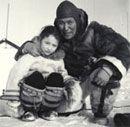 Inuit photographer Peter Pitseolak Peter Pitseolak and Ainiak Manning Ainiak Manning, © CMC/MCC,