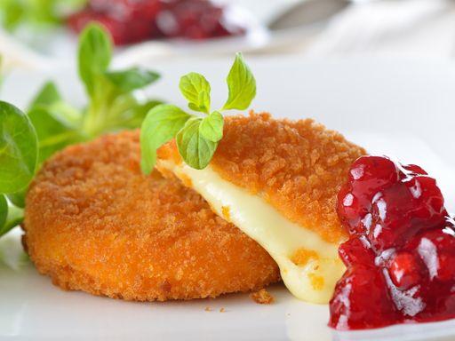 Assiette de fromages panés : Recette d'Assiette de fromages panés - Marmiton