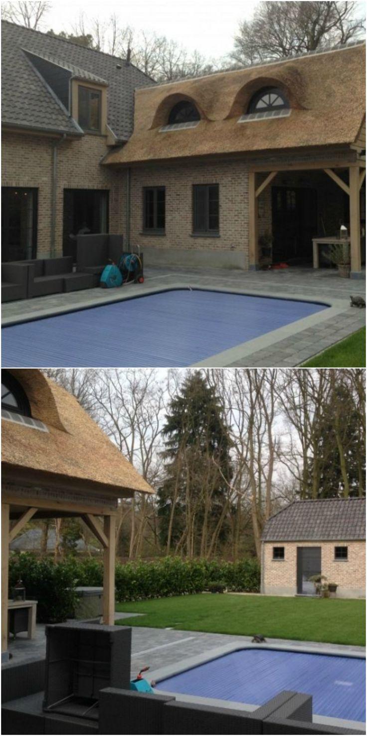 24 best nouvelle construction classique images on for Construction piscine couverte