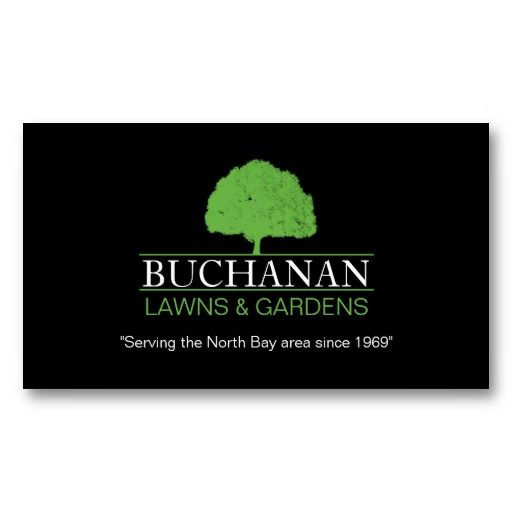 Lawn Care And Gardening Business Card Lawn Service Business Cards