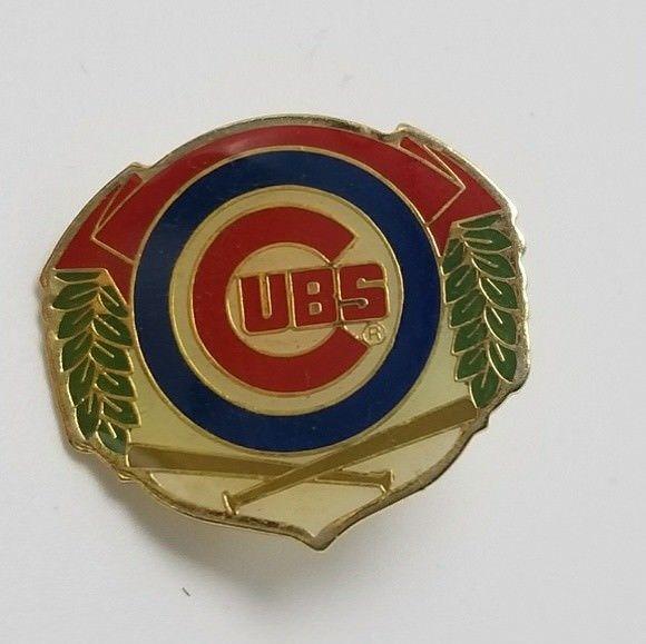 1992 Chicago Cubs Pin MLB Souvenir Pin Cubbies Pin Lapel Pin Cubs Hat Pin #Vintage #ChicagoCubs