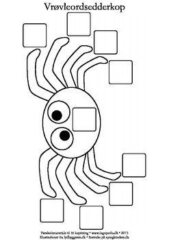 (2015-08) Skabelon til vrøvleords-edderkopper