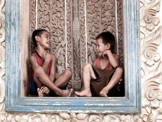 Beautiful Cambodia prints on canvas. Hidden gems by TessEverettPhotos, $130.00