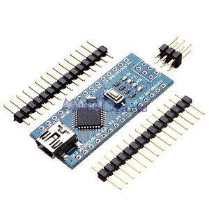 ATmega328P Arduino compatible Nano V3 verbeterde versie met USB kabel. Gewijzigde USB-chip, verbetert de downloadsnelheid en stabiliteit onder Windows 7 en Windows 8. www.martoparts.nl