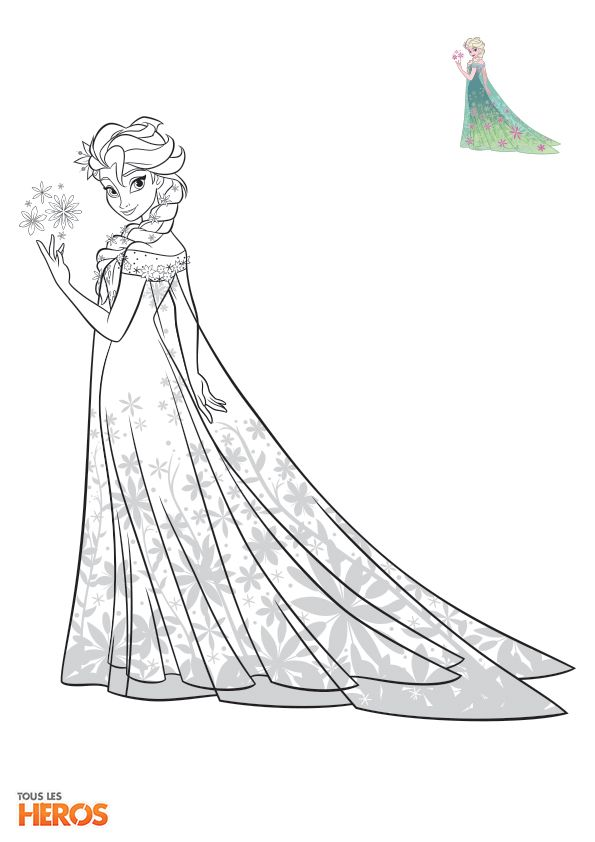 Coloriage Frozen3 Jpg 595 842 Princess Coloring Pages Elsa Coloring Pages Disney Princess Coloring Pages