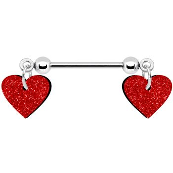 valentine's day nipple rings