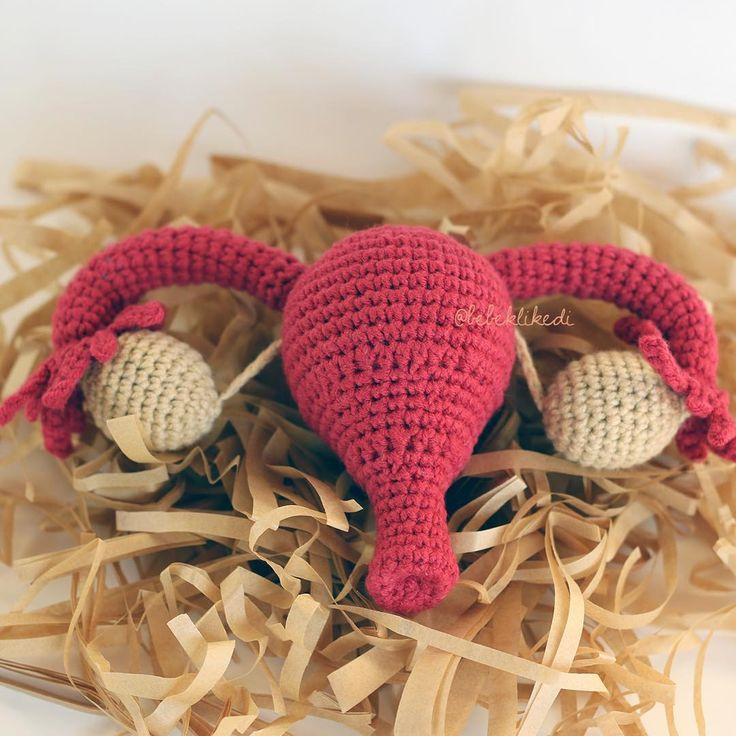 Crochet Uterus with fallopian tupes is on the way to #unitedstates . If you want one you can find on my #etsyshop .. Uterus Amerika'ya doğru yola çıktı. #etsy #bebeklikedi  #etsypattern #amigurumi #pattern #crochet #uterus #crochetuterus #womb #vulva #womanpower #woman #feminine #feminist #handmade #rahim #doula #midwife #crochetlove #crocheter  #childbirth #handmade