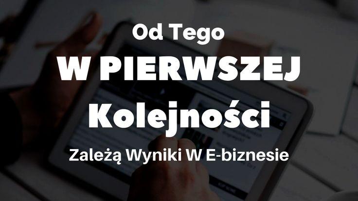Wyniki w marketingu internetowym zależą od wielu czynników ale ten jest najważniejszy, ponieważ to on determinuje jakość naszego działania: http://blog.swiatlyebiznes.pl/od-tego-w-pierwszej-kolejnosci-zaleza-wyniki-w-e-biznesie/
