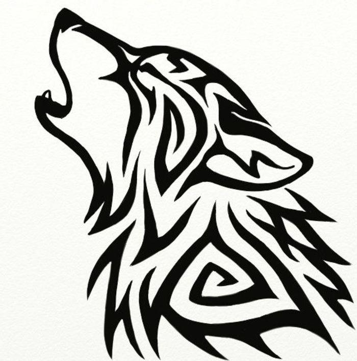 Картинки чб волки