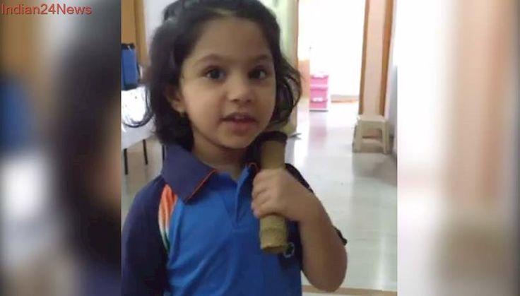 Little Girl Dressed As Mithali Raj Delights The Team India Captain