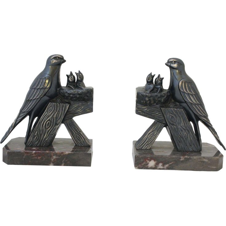 Strikingly Idea Bird Bookends. Art Deco Bird Bookends 247 best Arts  Crafts and Style images on