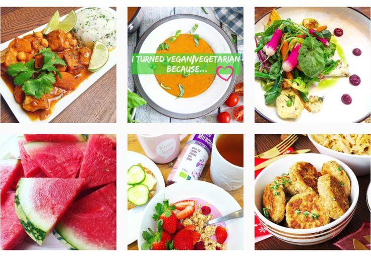 Her er syv appetittvekkende blogger som kan by på oppskrifter til vegetar- og veganmat.