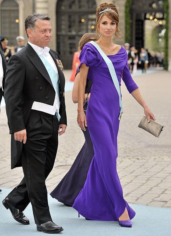 Reina Rania de Jordania by Giorgio Armani Privé