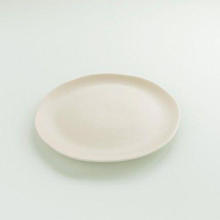 Assiette en grès Jars Céramistes couleur pâtisson