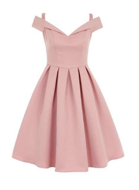 **Chi Chi London bardot midi dress - Dorothy Perkins France