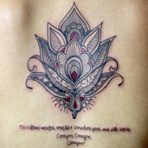 tatuagem mandala lotus - Pesquisa Google