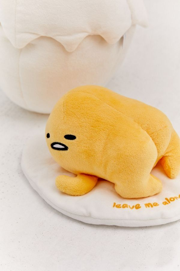 NEW Japan Sanrio Lazy Gudetama Egg Mascot Plush Stuffed Gift Toy Keychain