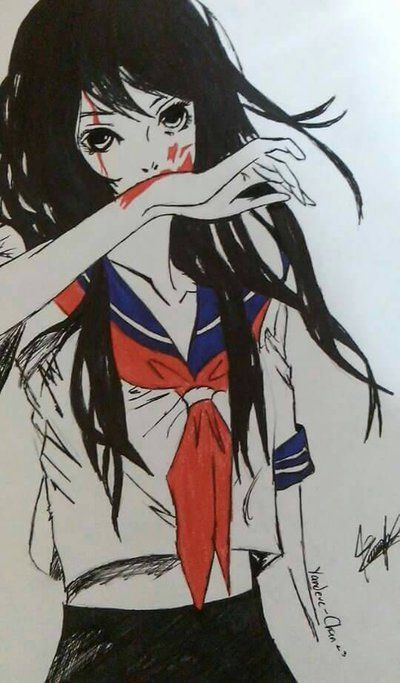 Anime Characters Yandere : Best yandere simulator images on pinterest sims