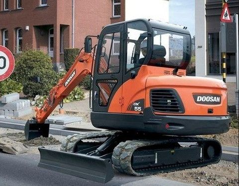 Click On The Above Picture To Download Doosan Daewoo DX55 Excavator Parts Manual