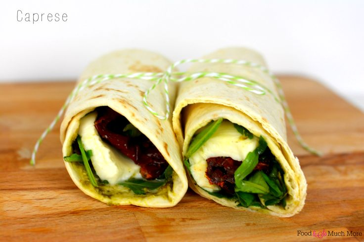 Lunchwraps Caprese // Food & So Much More
