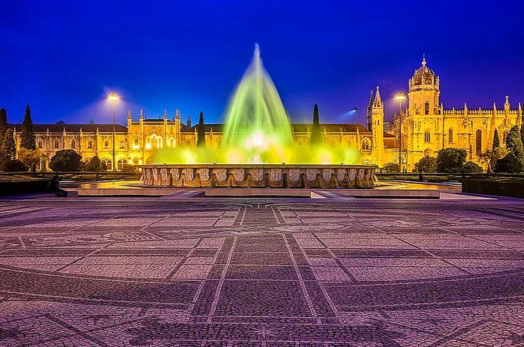 Monumentos portugueses que são património mundial MOSTEIRO SANTA MARIA DE BELÉM -LISBOA