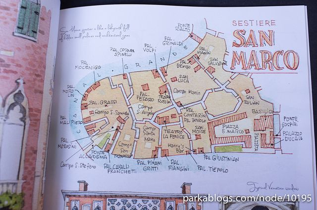 Venice: A Watercolor Travel Journal. Travel, journal, sketchbook, notebook, dairy, words and images, drawing.