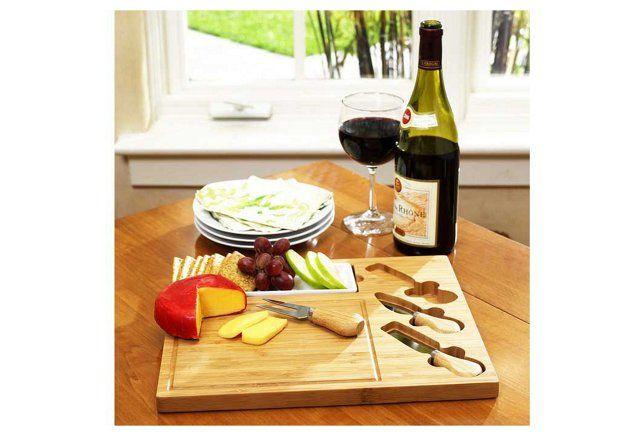 Celtic Cheese Board Set, Bamboo