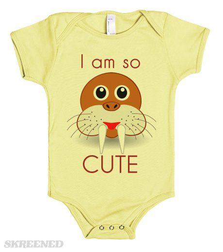 I am so Cute - baby one piece tee shirts
