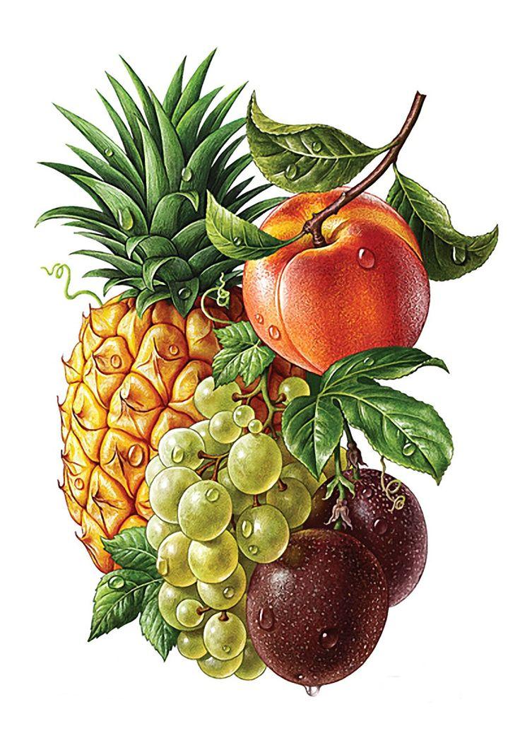 занимают фрукты в вазе картинки для декупажа перчатки были